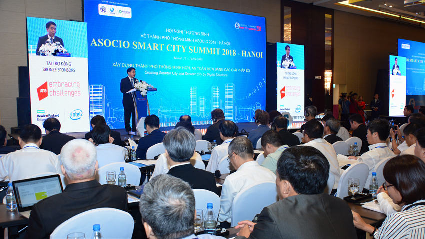 ASOCIO Smart City Summit 2018 - Hanoi